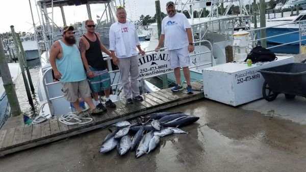 Phideaux Fishing, Big pile of small tunas