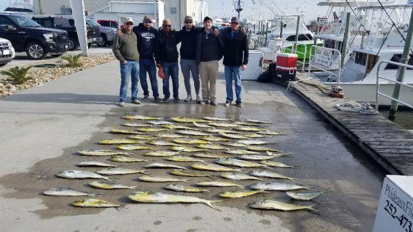 Phideaux Fishing, More October Mahi