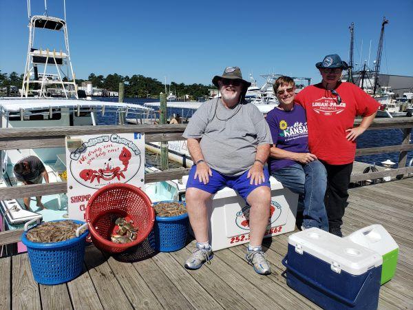 Grandpa's Charters, Baskets of Shrimp 🦐🦐🦐🦐🦐