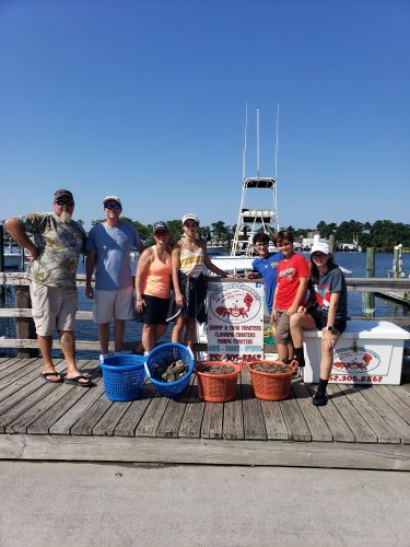 Grandpa's Charters, Loaded with Shrimp