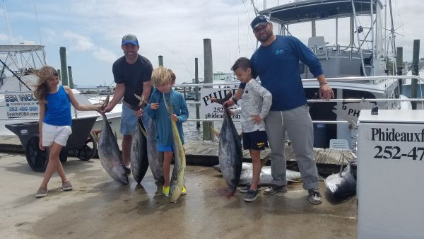 Phideaux Fishing, Brad and kids