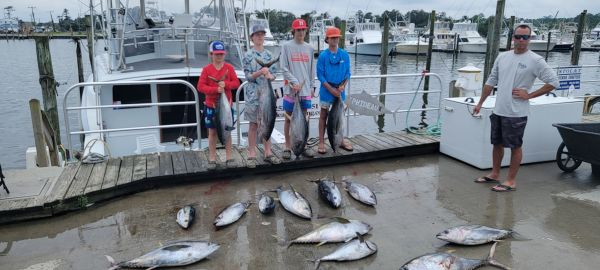 Phideaux Fishing, Alan and the kids