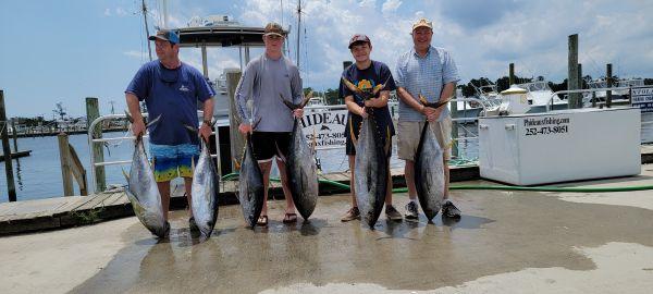 Phideaux Fishing, Doc's big tunas