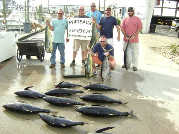 Phideaux Fishing, TUNA or MAHI !!!!!