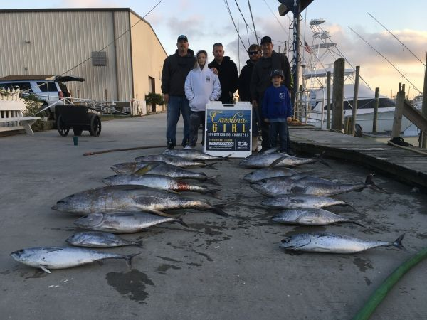 Carolina Girl Sportfishing Charters Outer Banks, Spring is here time to get booked and hooked