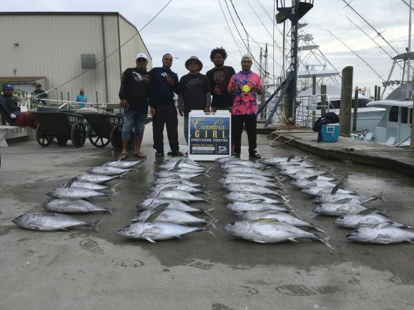 Carolina Girl Sportfishing Charters Outer Banks, 10/10/20 Great Tuna Fish We Have Tomorrow The 11th Open !