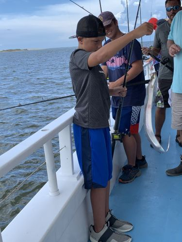 Miss Oregon Inlet Head Boat Fishing, Fishy Friday