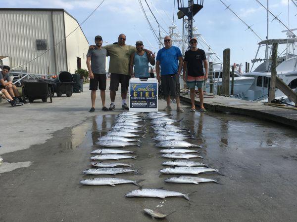 Carolina Girl Sportfishing Charters Outer Banks, 9/2/20 Inshore fishing good today