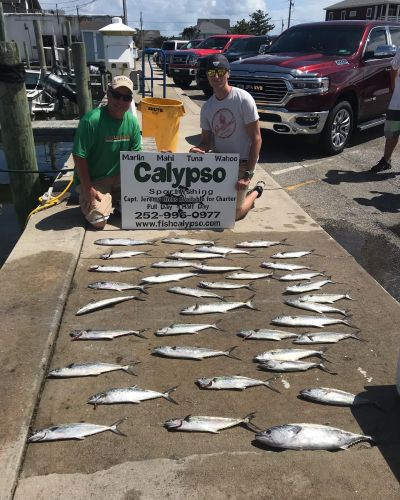 Calypso Sportfishing Charters, May 9th Inshore