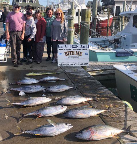 Bite Me Sportfishing Charters, Good Tuna Fishing