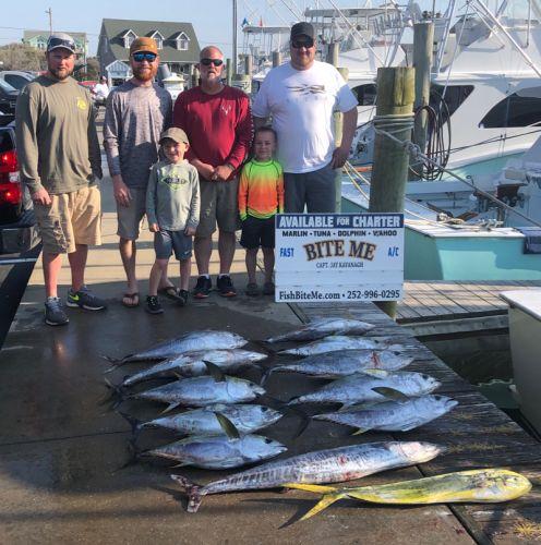 Bite Me Sportfishing Charters, Tuna dolphin wahoo