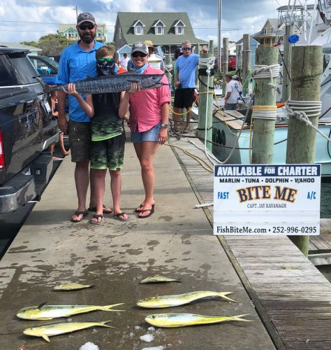 Bite Me Sportfishing Charters, Pretty Weather Continues