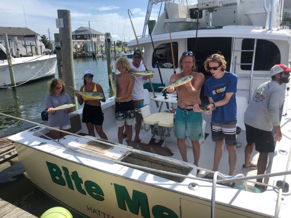 Bite Me Sportfishing Charters, Pretty Day a few dolphin