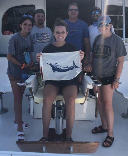 Bite Me Sportfishing Charters, Hooked Up,Blue Marlin!