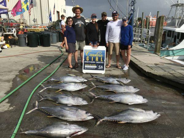Carolina Girl Sportfishing Charters Outer Banks, Still Great Tuna Action