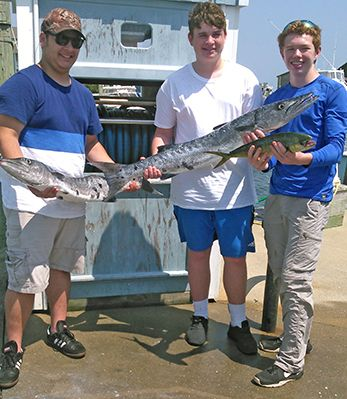 Tuna Duck Sportfishing, Weather Not With Us Today