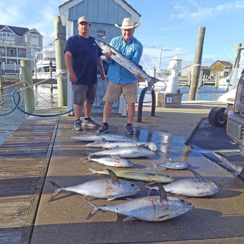 Tuna Duck Sportfishing, Tuna and Mahi for DIA Rod and Gun