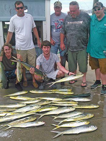 Tuna Duck Sportfishing, Mahi and Marlin Action
