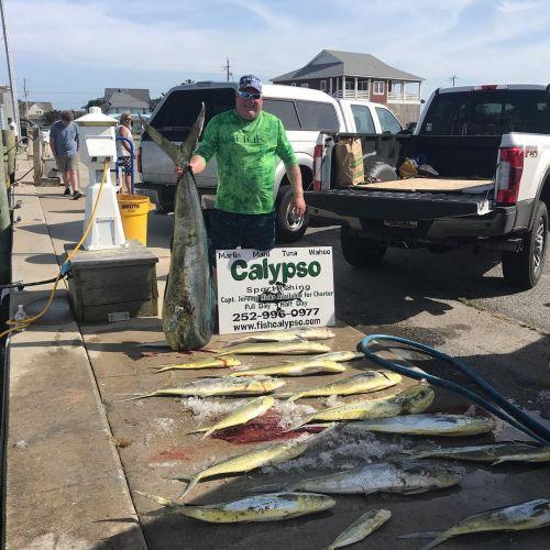 Calypso Sportfishing Charters, May 2nd- 58 pound bull