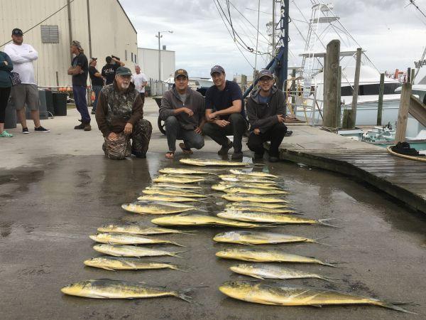 Carolina Girl Sportfishing Charters Outer Banks, Good Mahi Fishing!