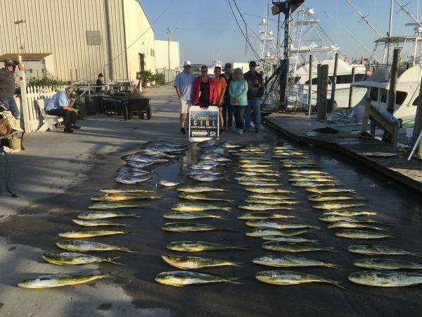 Carolina Girl Sportfishing Charters Outer Banks, October 7/20 Great Mahi & Tuna Fishing Come Get Some !