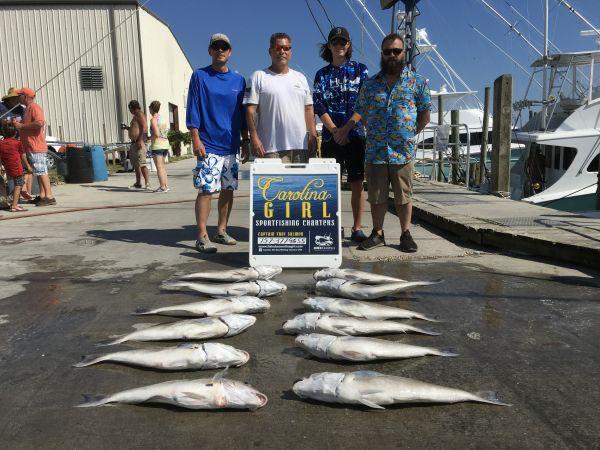 Carolina Girl Sportfishing Charters Outer Banks, Big Tile fish um good !