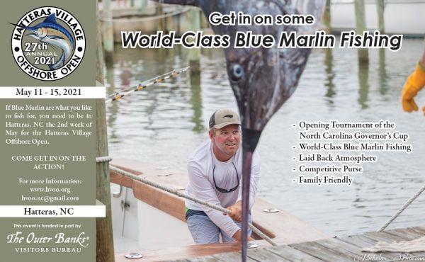 Fish Ocracoke, World-Class Blue Marlin Fishing