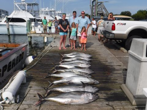 Pirate's Cove Marina, Tuna's are NOT Gone