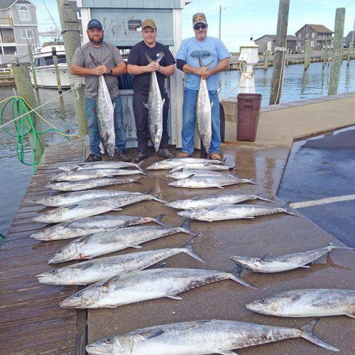 Tuna Duck Sportfishing, Good King Mackerel Bite