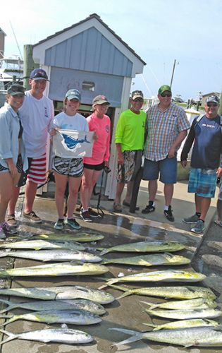 Tuna Duck Sportfishing, Sailfish and Dolphin!