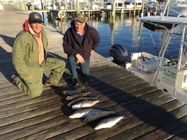 T-Time Charters, Still good fishing in the sound