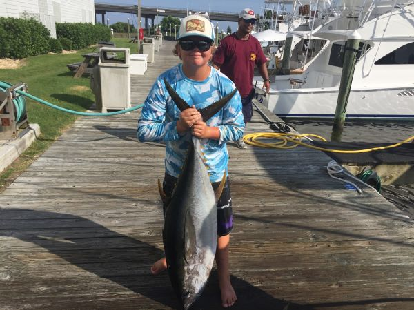 T-Time Charters, 66 lb yellowfin from last week