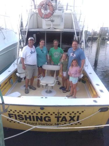 Fishing Taxi Sportfishing, Time to get off stress stricken land