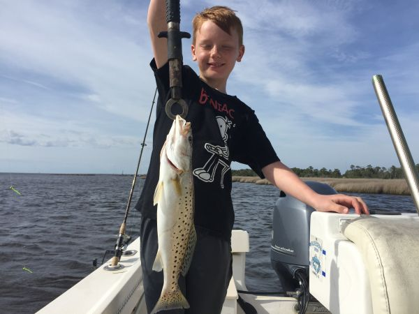T-Time Charters, Jacob with a nice speck