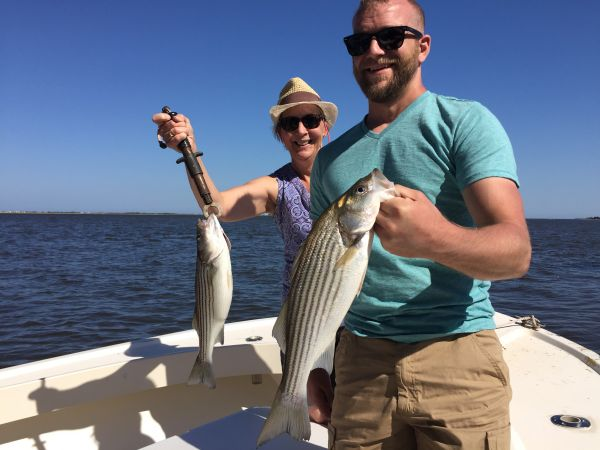 T-Time Charters, Brandon and Anna with a double header yesterday afternoon