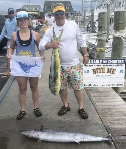 Bite Me Sportfishing Charters, Father Daughter Day