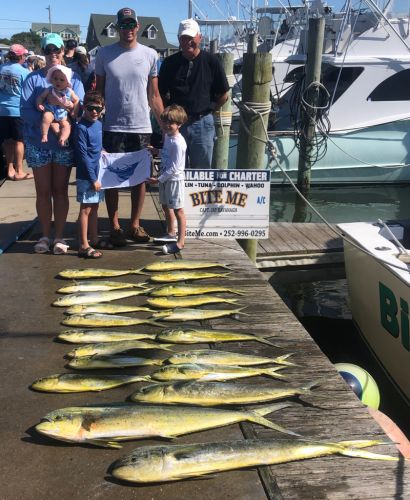 Bite Me Sportfishing Charters, young anglers!