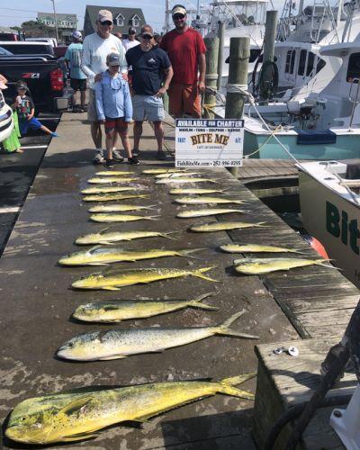 Bite Me Sportfishing Charters, Dolphin - Pretty Day!