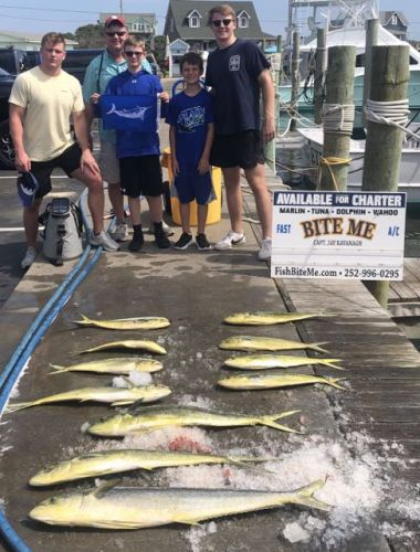 Bite Me Sportfishing Charters, White Marlin and Dolphin!