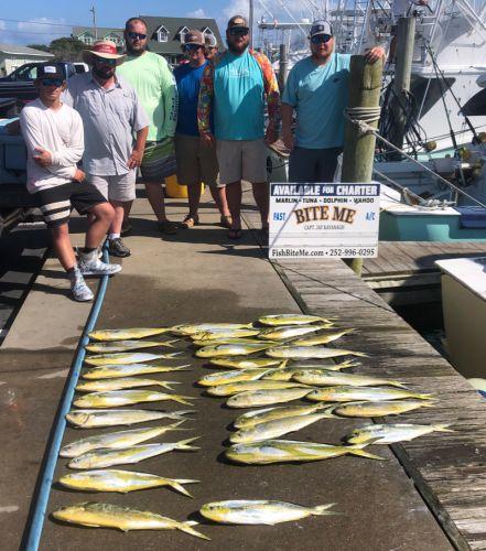 Bite Me Sportfishing Charters, Bailers!