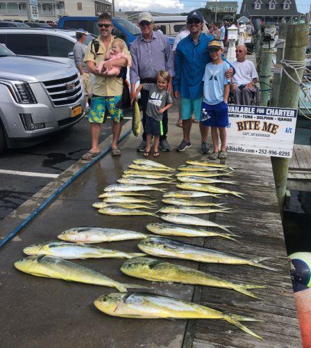 Bite Me Sportfishing Charters, Mahi!