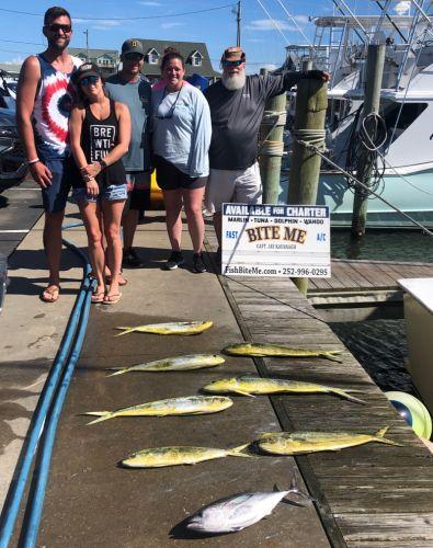 Bite Me Sportfishing Charters, Tough Conditions