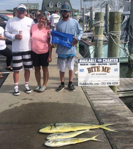 Bite Me Sportfishing Charters, Marlin Hunting!