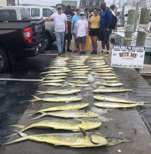 Bite Me Sportfishing Charters, Mahi Mania