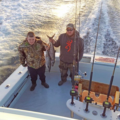 Tuna Duck Sportfishing, King Mackerel