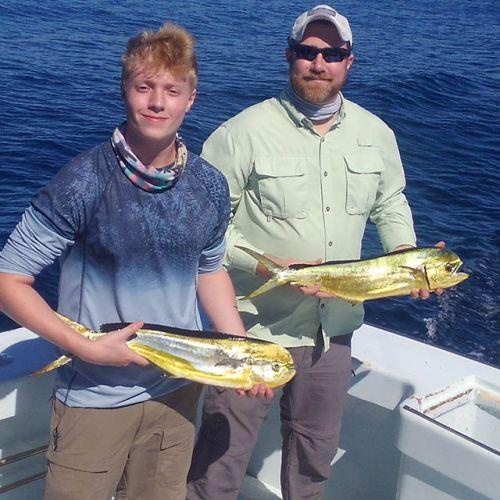 Tuna Duck Sportfishing, Mahi For Dinner