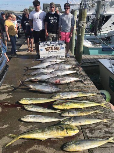Bite Me Sportfishing Charters, Tuna Dolphin Wahoo Meat!