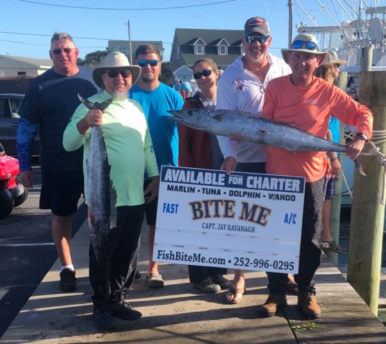 Bite Me Sportfishing Charters, Mixed up water