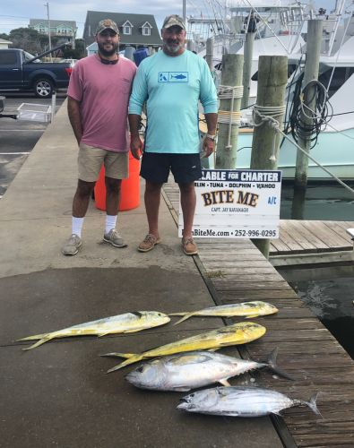 Bite Me Sportfishing Charters, Scrappy but a few quality fish