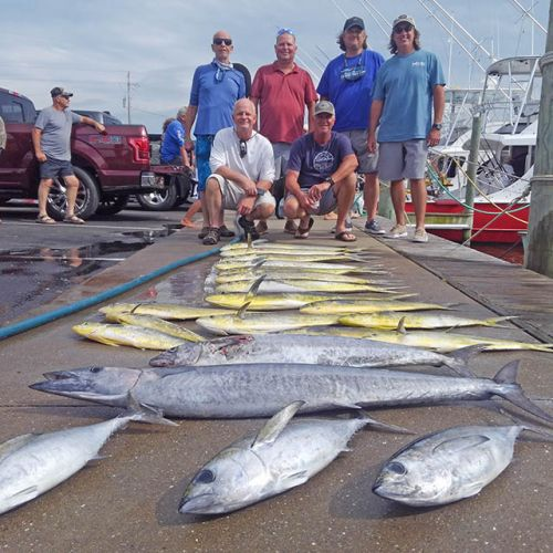 Tuna Duck Sportfishing, Peaceful Gulf Stream Day